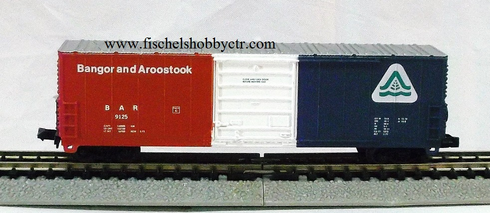 Life-Like Bangor and Aaroostook B.A.R. 9125 N scale