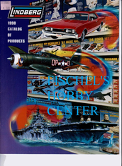 Lindberg 1998 model kit catalog