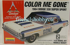 Lindberg 72156 1964 Dodge 330 Super Sport Color Me Gone 1/25th plastic kit