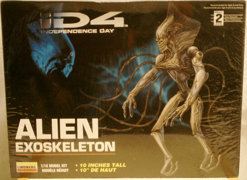 Lindberg ID4 Alien exoskeleton model kit 77312