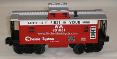 Lionel 6-26551 Chessie Square Window Caboose WM 901881 Safety first