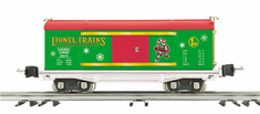 Lionel by MTH 11-70047 No. 2814 O Gauge Box Car - Christmas