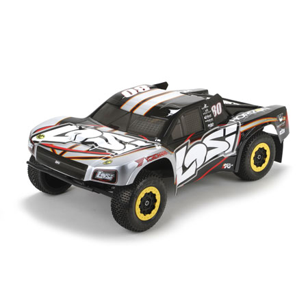Losi LOS03002 XXX-SCT Brushless RTR, AVC: 1/10 2WD SC Truck