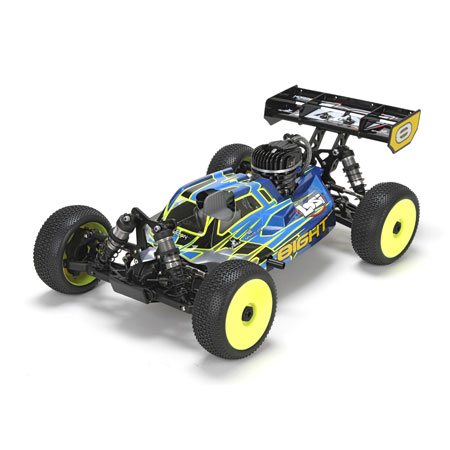 Losi LOS04000 8IGHT RTR, AVC: 1/8 4WD Gas Buggy