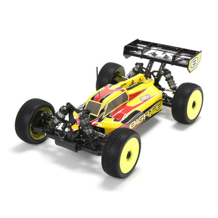 Losi LOS04003 8IGHT-E RTR, AVC: 1/8 Electric 4WD Buggy