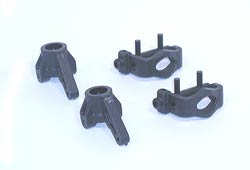Losi LOSA1224 Front Spindles & Carriers: XXX-S