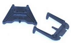 Losi LOSA4048 Front/Rear Shock Towers: JR Two
