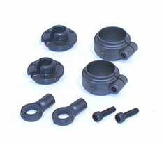 Losi LOSA5023 Shock Spring Clamps & Cups