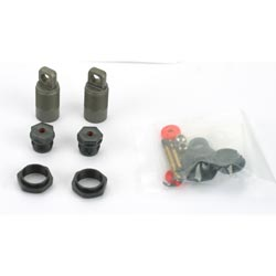"Losi LOSA5081 .28"" Titanium Threaded Shock Set"