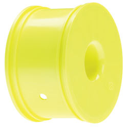 Losi LOSA7739 Truggy Wheels, Lightweight, Yellow (4): 8T