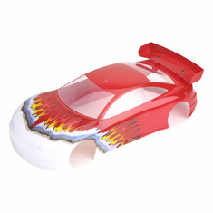 Losi LOSA8460 XXX-S Sport Painted Body: Red