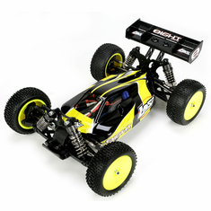 Losi LOSB0224 1/14 Mini 8IGHT RTR: Black