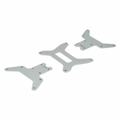 Losi LOSB0901 Lower Chassis Plate Set(3): MLST/2