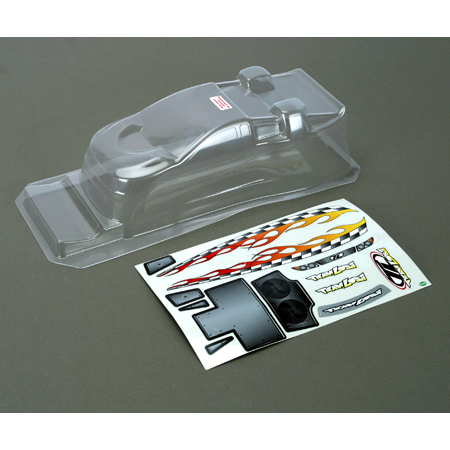 Losi LOSB1008 R/C car Body mini-t clear