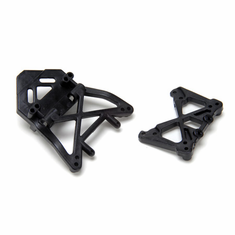 Losi LOSB1038 Front/Rear Shock Towers: Mini-DT