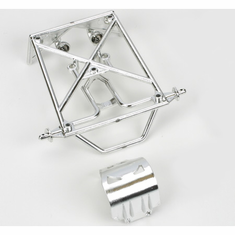 Losi LOSB1103 Rear Roll Cage Set, Chrome: Mini-DT