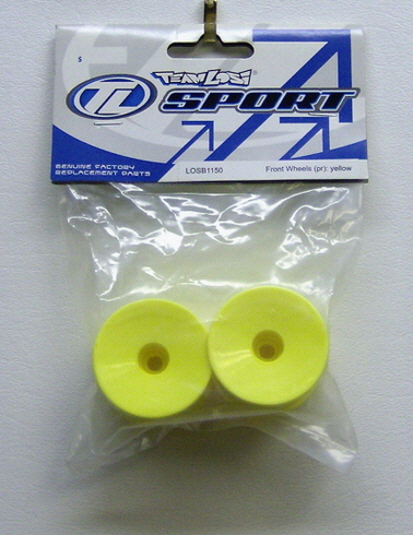 Losi LOSB1150 Mini-t Front Wheels yellow
