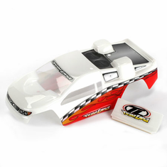 Losi LOSB1352 Painted Body: White/Red: Mini-T