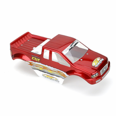 Losi LOSB1366 Body, Candy Red: MLST/2