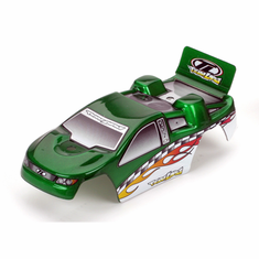 Losi LOSB1542 Micro-t body green with stickers