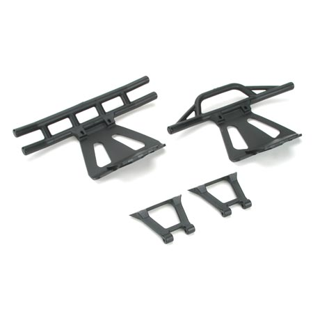 Losi LOSB2401 Front Rear Bumpers Braces LST LST2 AFT
