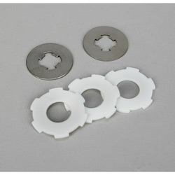 Losi LOSB3451 Slipper Pads & Plates: LST, LST2, AFT, MGB