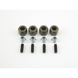 Losi LOSB3514 14mm Hex Adapter Set (4): LST, AFT