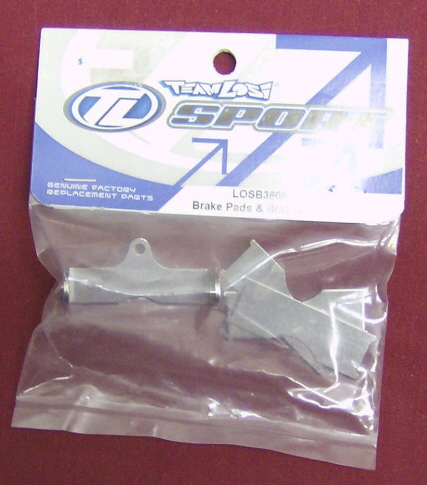 Losi LOSB3605 Brake Pads and Bracket: LST