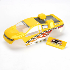 Losi LOSB1005 Mini-T Painted Body: Yellow
