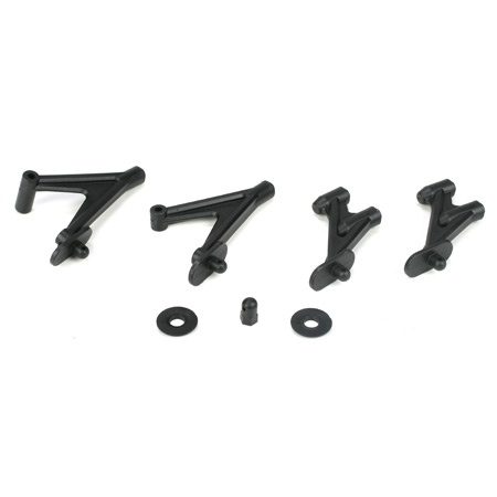 Losi TLR4161 Wing Stay Set, Rear/Mid Motor: 22