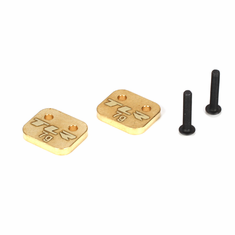 Losi TLR4167 Brass Weight System, Rear Motor: 22