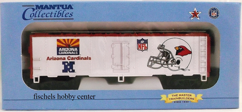 Mantua 733-825 Super bowl Express Arizona Cardinals 41' steel reefer HO