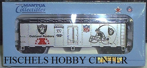 Mantua 733-838 NFL Super bowl Express Oakland Raiders HO