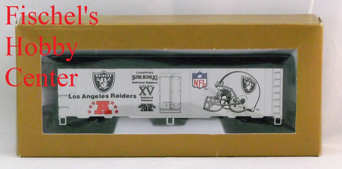 Mantua Super bowl Express Los Angeles Raiders 41' steel reefer