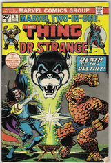 Marvel 2 in 1 Thing & Dr Strange 6