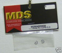 MDS 04000034 Wrist Pin Clips C D