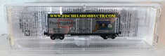 Micro Trains Line 502 00 548 Pennsylvania #1787 40' Plug-Door Boxcar Z scale