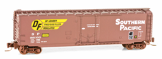 Micro Trains Line 50700582 50' Plug-Door Boxcar Southern Pacific #661100 (Boxcar Red, Large DF Logo) Z scale