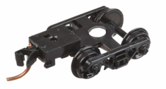 Micro trains Lines 1033 003 02 032 Roller-Bearing Trucks With Medium Extended Couplers 1 Pair
