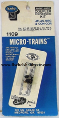 Micro trains Lines 1109 Locomotive Coupler Conversion Kits -- Atlas EMD SD45 & ALCO RSC-2; Con-Cor ALCO 636; MRC ALCO FA-1 & FA-2