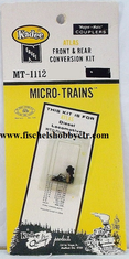 Micro trains Lines 1112 Locomotive Coupler Conversion Kits -- Atlas Plymouth WTD Switcher