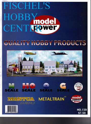 Model Power # 159 N HO O & G scale catalog