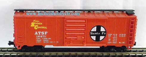 Model Power 3438 ATSF # 16471 Box Car N scale