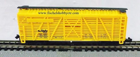 "Model Power 3553 "" The Katy "" Cattle car no # N scale"