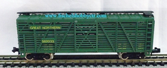 Model Power 3554 Great Northern # 582033 Cattle car N scale