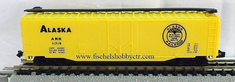 Model Power 4031 50' Refrigerator Car Alaska A.R.R. # 11719 N Scale
