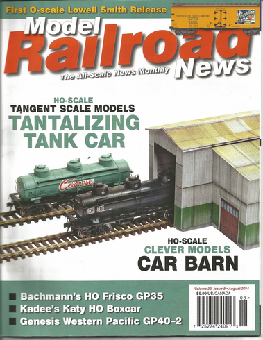 Model Railroad News August 2014