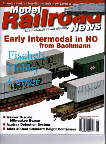 Model Railroad News Magazine June 2013