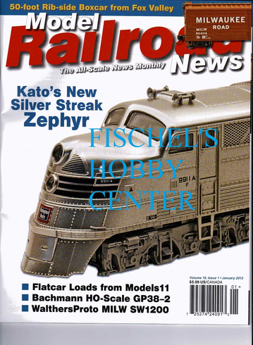 Model Railroad News Magazine January 2013