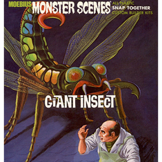 Moebius 643 Monster Scenes, Giant Insect